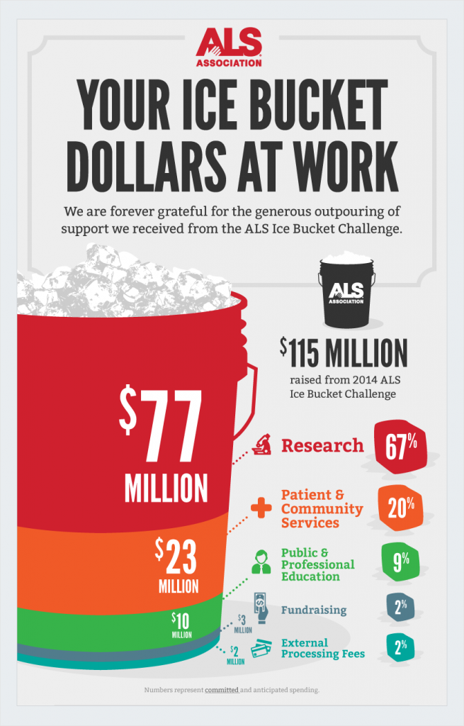 ALS Association Nonprofit Infographics