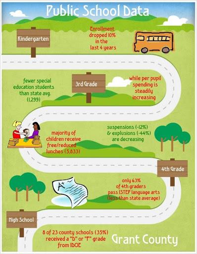 Public School Data Nonprofit Infographics