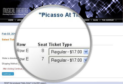 Sumac Ticketing Software