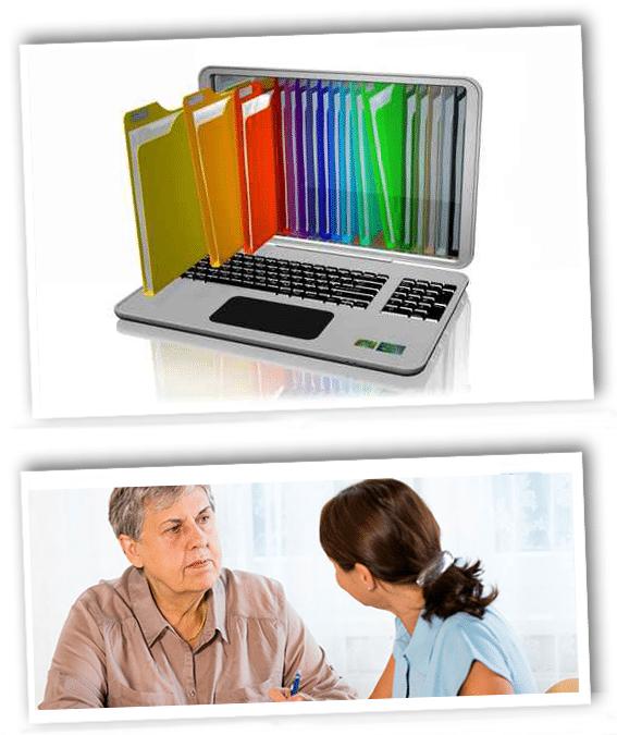 Case Management Collage