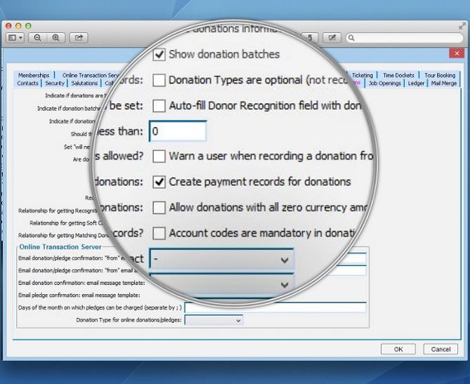 Custom Nonprofit Software Choose Preferences