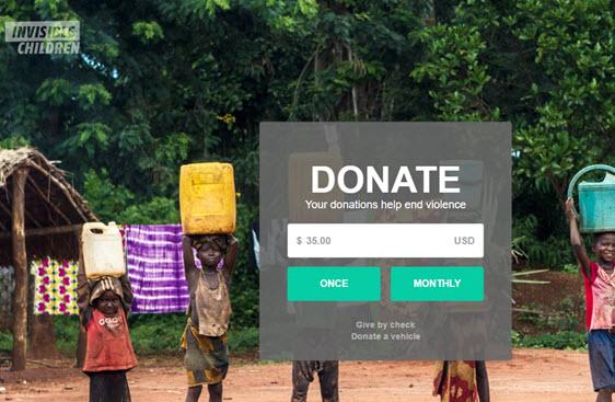 invisible-children-donation-page