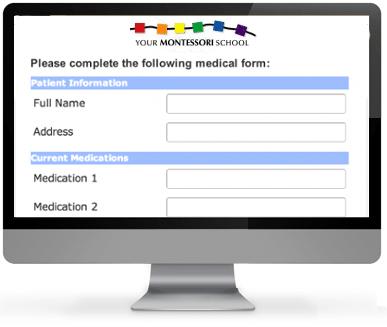 Montessori School Forms
