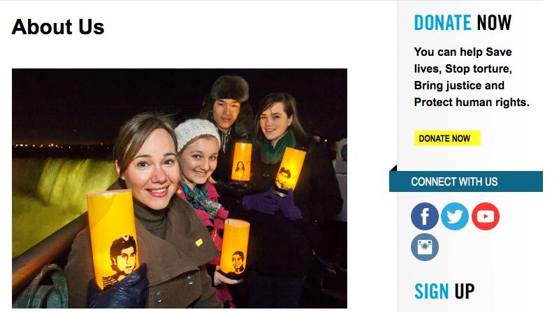 Amnesty-Fundraising