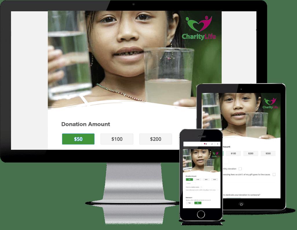 Nonprofit-donation-pages