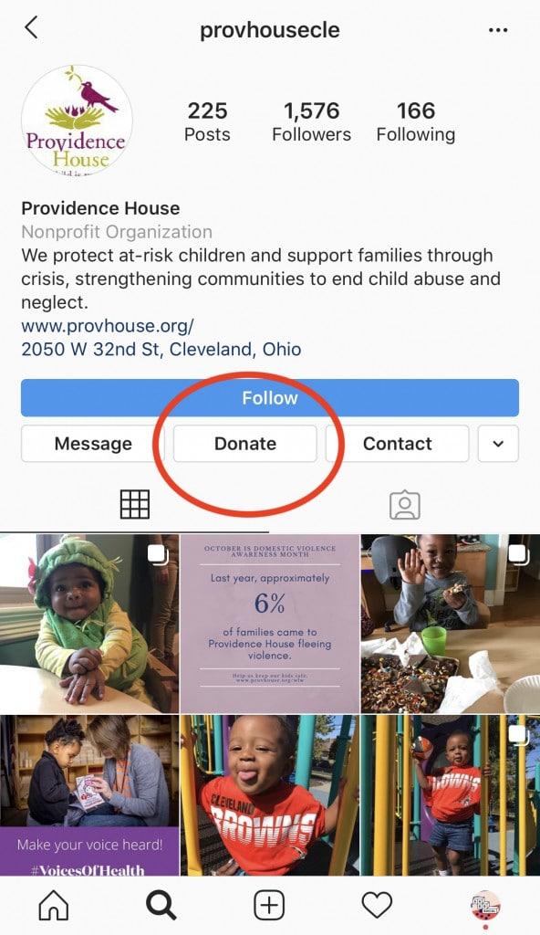 Instagram-donate-button-nonprofit