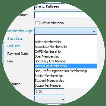 Membership-management-software-membership-types