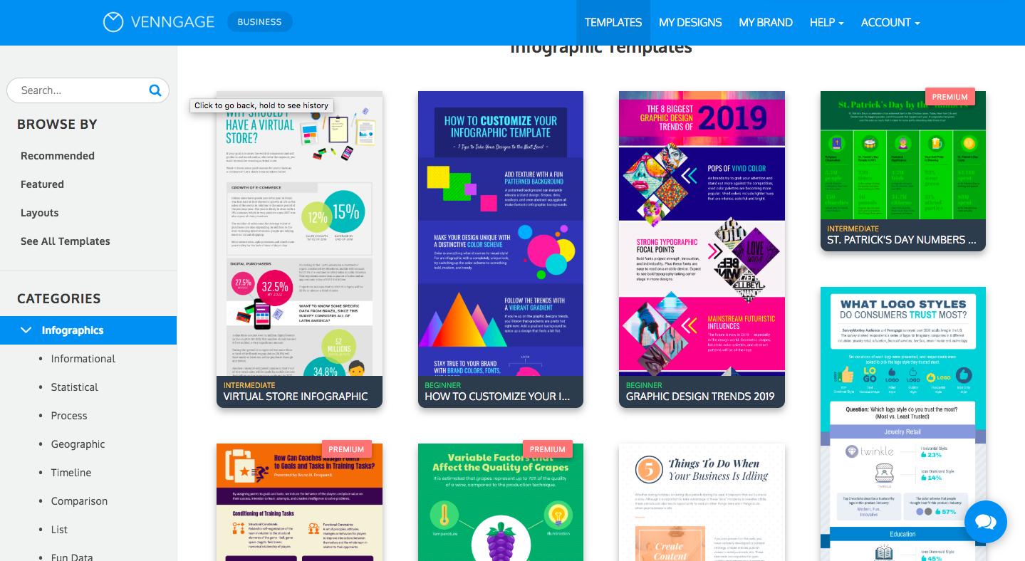 Venngage Nonprofit Infographics